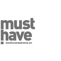 """""""Must Have"""" Auszeichnung, Łódź Design Festival 2015"""