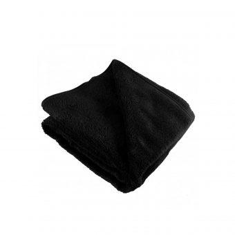 Ręcznik na leżak czarny